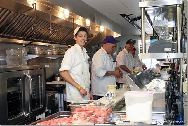 May 21, 2012 cooks hard at work