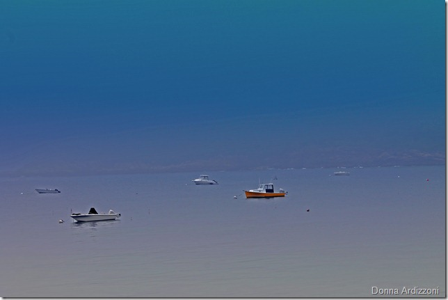 May 29, 2012 boats in the fog Magnolia Harbor