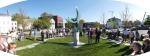 Park inauguration panorama