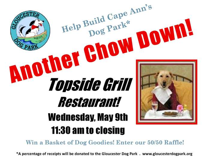 Chow Down at Topside for Gloucester Dog Park