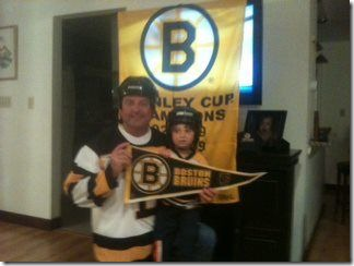 Aran Patrican and Braeden Perry, 2011 Stanley Cup Championship series