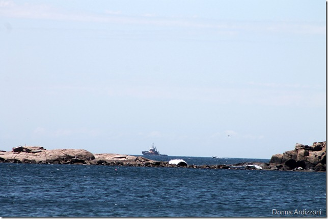June 15, 2012The indepence going by Kettle Cove in Magnolia Harbor