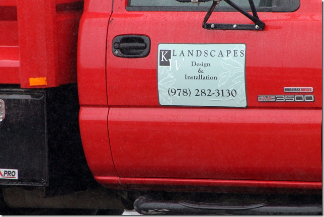 June 4, 2012 landscapers in the rain