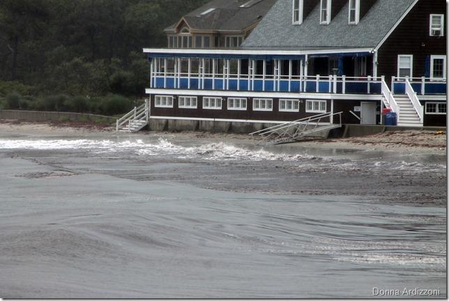 June 4, 2012 Magnolia Beach, one hour til high tide