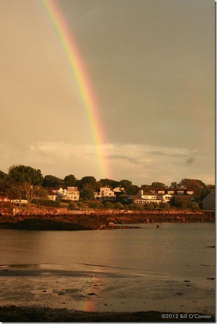 Rainbow Over Hawthorne Point