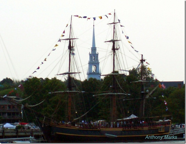 HMS Bounty / Steeple in the rigging