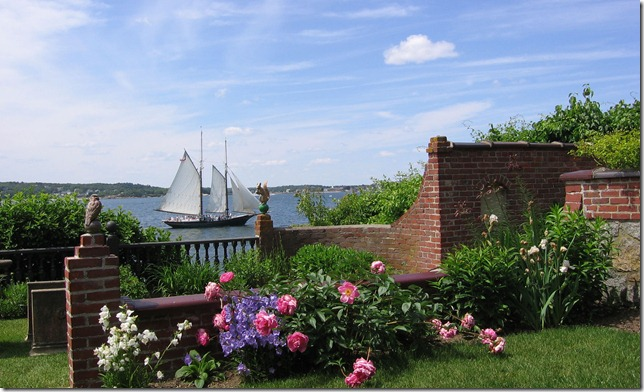 Historic New England's Beauport - landscape