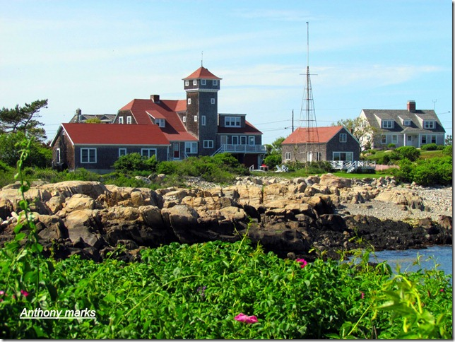 Old lifesaving station / Coast Guaed station Straitsmouth cove Rockport, Mass.