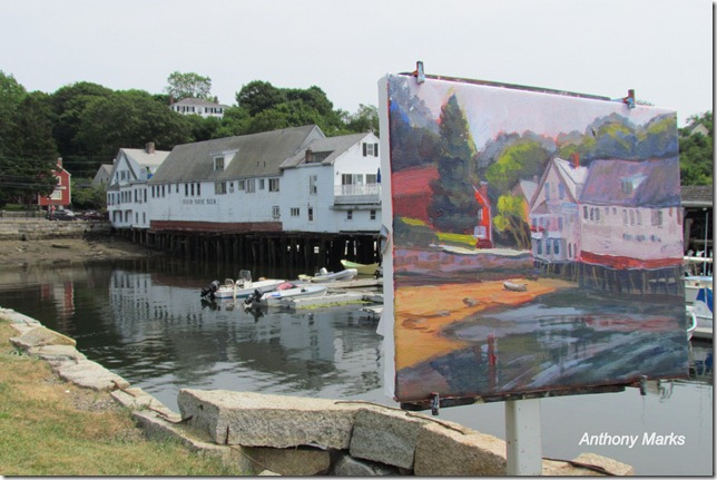Kathy Coakley Painting / Beacon Marine Basin