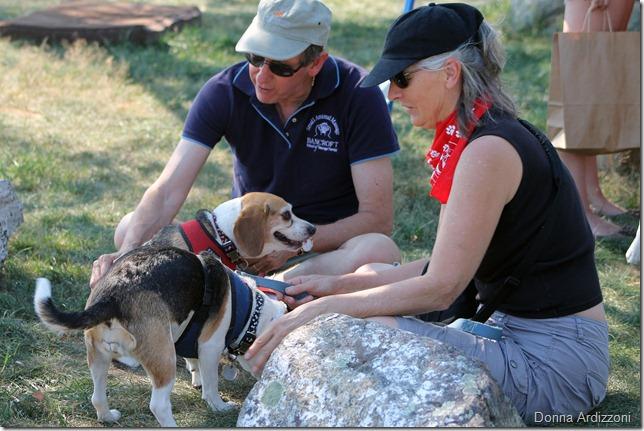 July 12, 2012 Doggie Massage