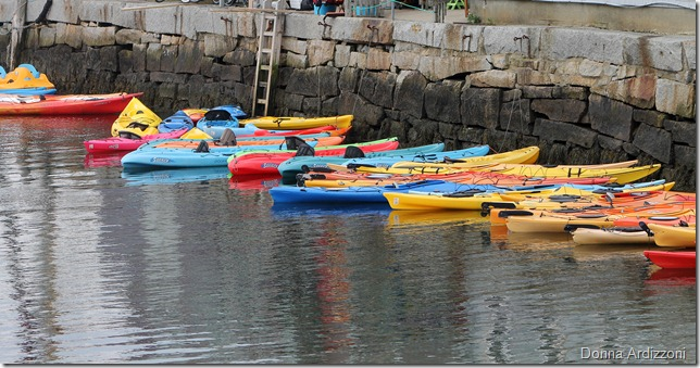 July 14, 2012 Kayaks waiting