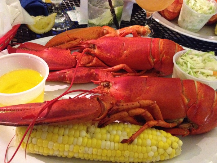 lobster, seaport grille, captain joes and sons