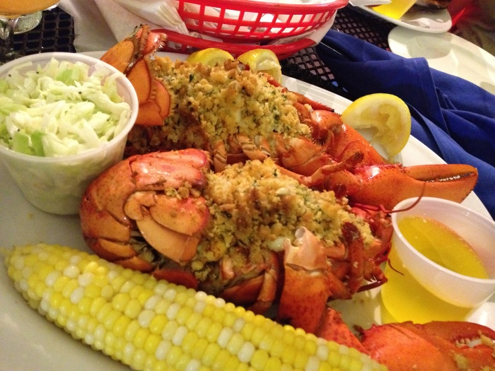 lobster, captain joes and sons, seaport grille