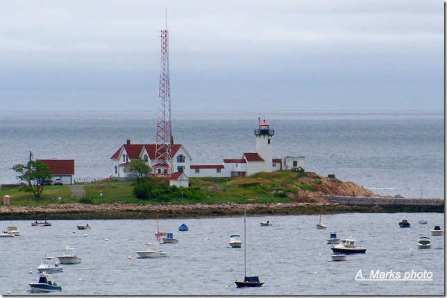 Birds Eye View of Eastern Point Light