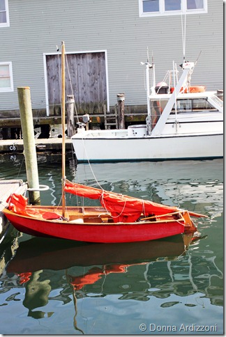 August 7, 2012 little red sail