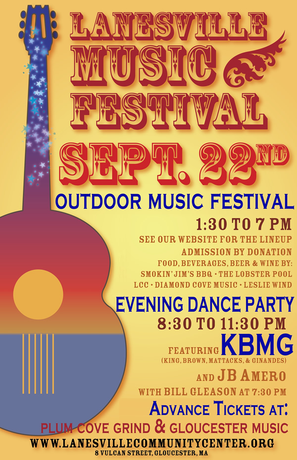 Click for Lanesville Music Festival lineup