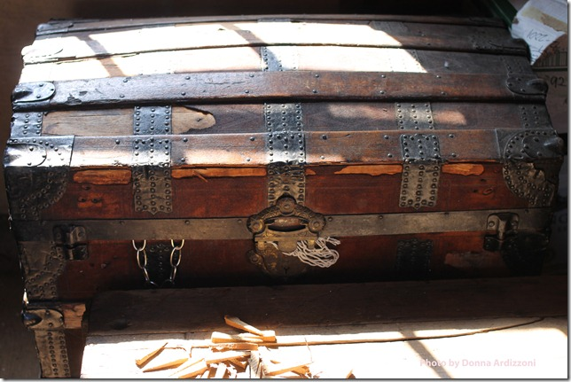 September 1, 2012 treasure chest in the fishermens shack