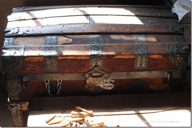 September 1, 2012 treasure chest in the fishermens shack