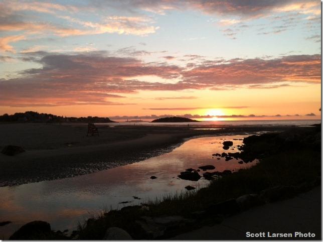 Sunrise September 4