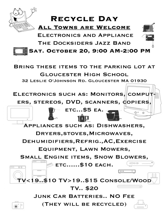 Docksider RecyDay Flyer-2012