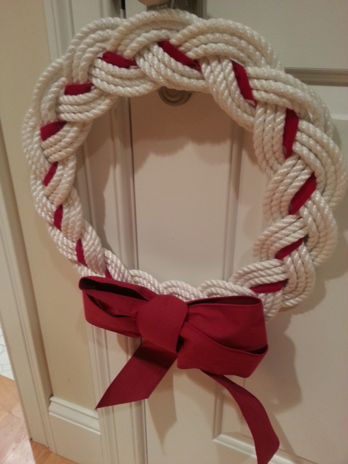 Harbor Goods Wreath- Thank You