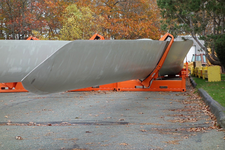 Gloucester Eng'g wind turbine installation 11-3-12 (19a)