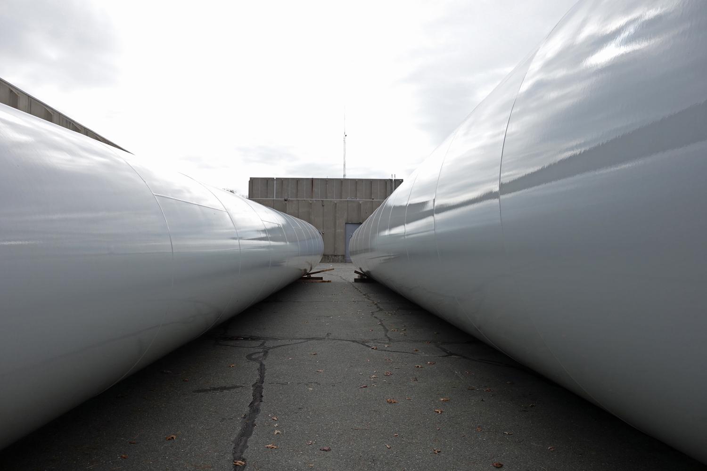 Gloucester Eng'g wind turbine installation 11-3-12 (22a)