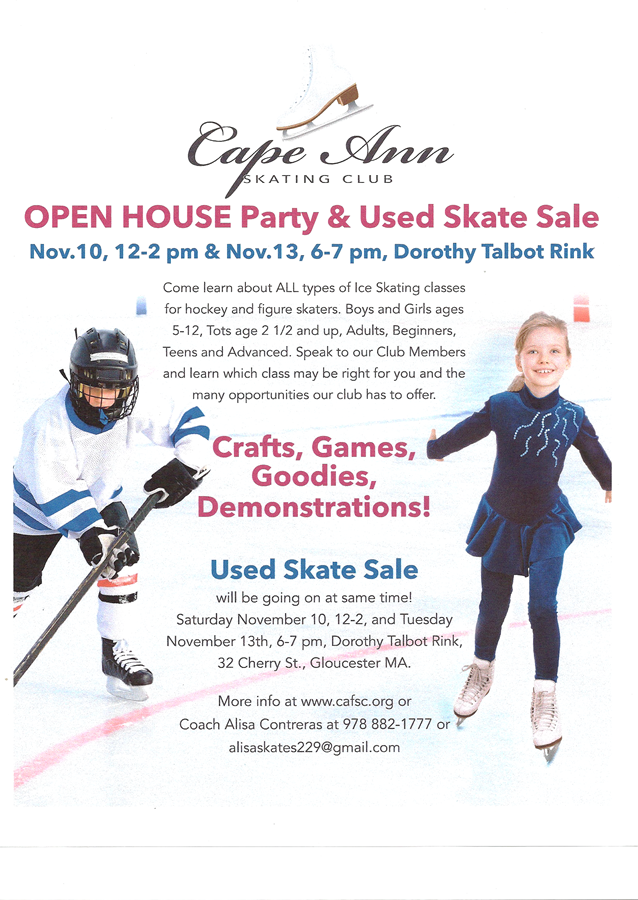 Open house flyer 11-12