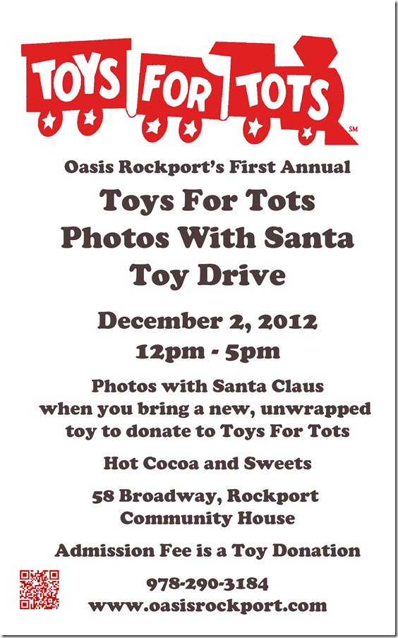 Toys For Tots Flyer