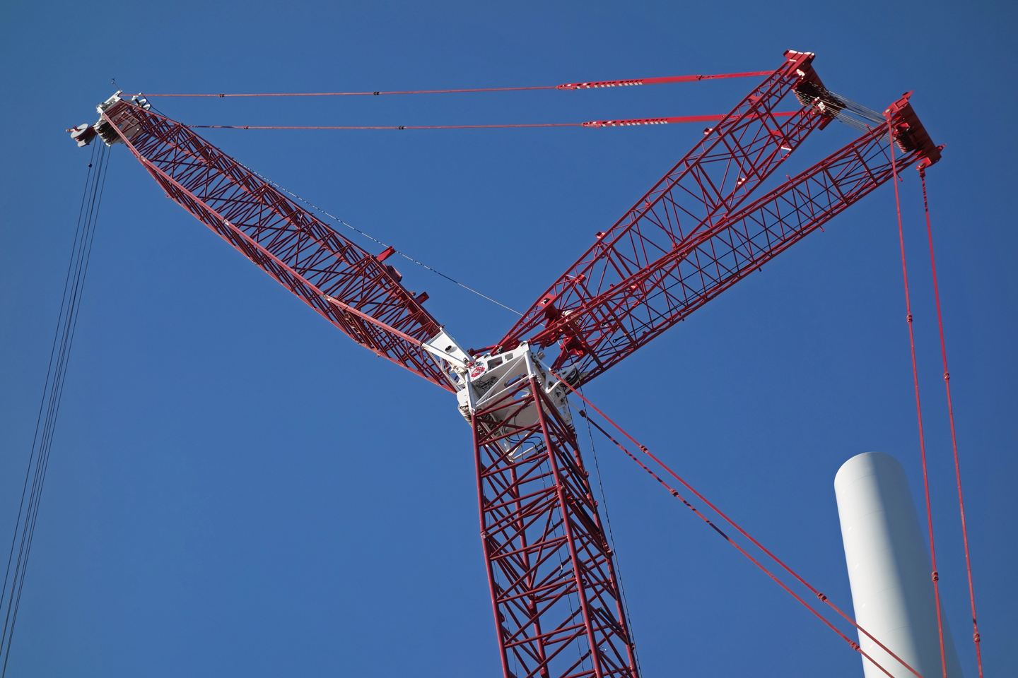 Varian wind turbine installation 11-1-12 (2a) | GoodMorningGloucester
