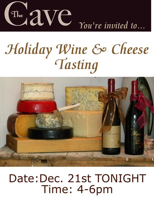 CaveWine&Cheese