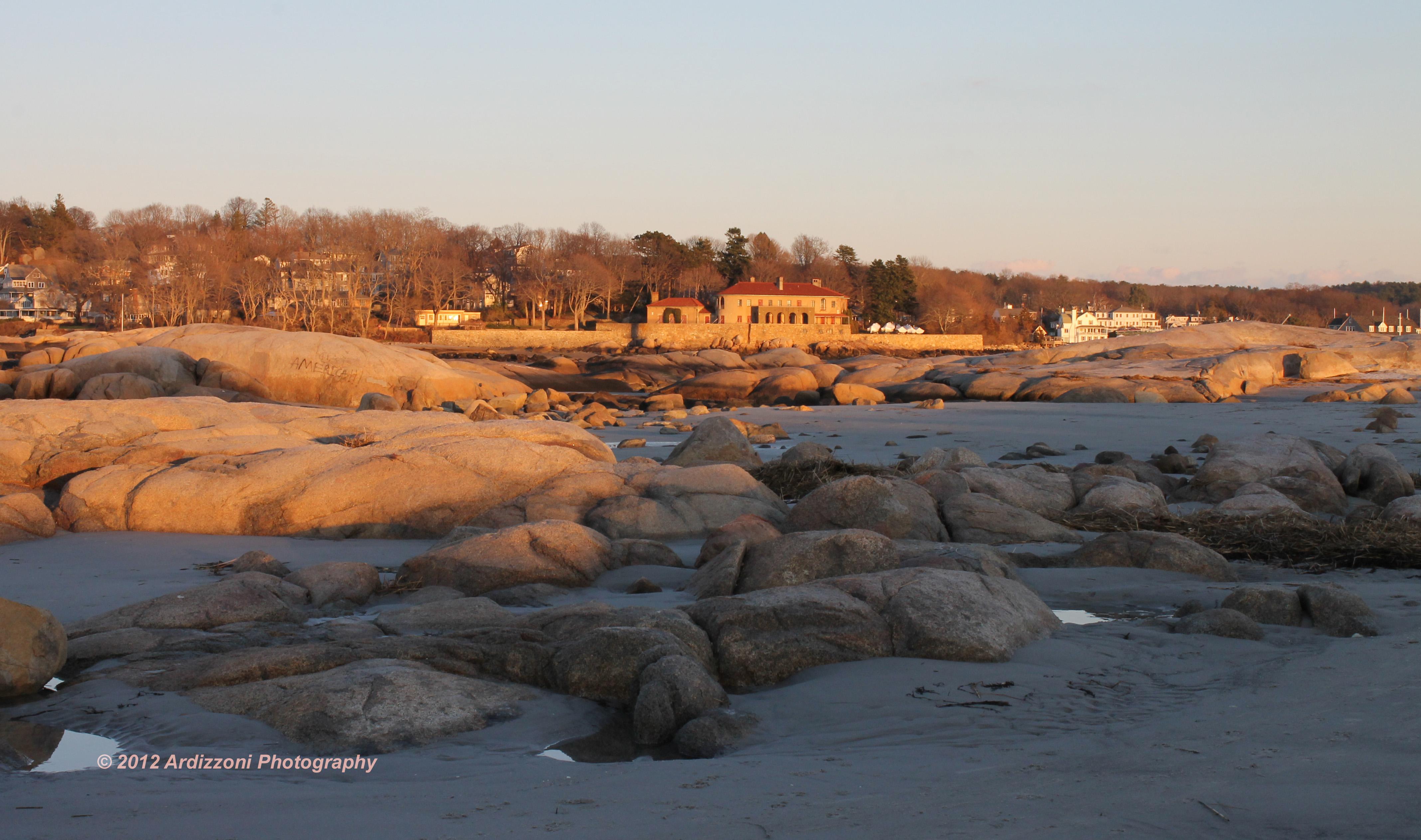 December 13, 2012  Sunset at Wingersheek beach