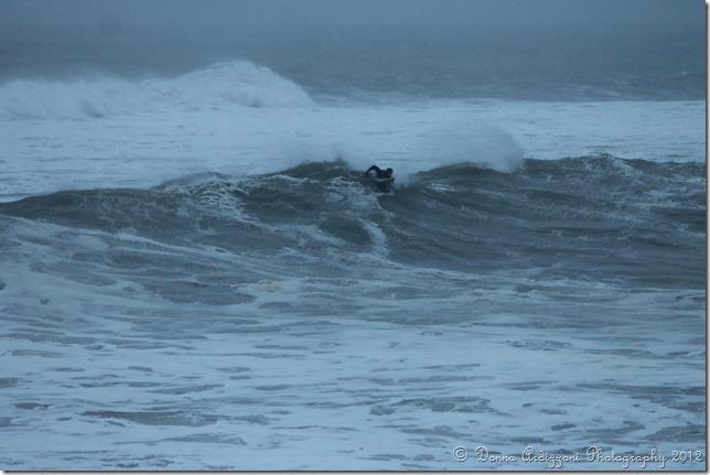 December 27, 2012 surfing on Magnolia Beach