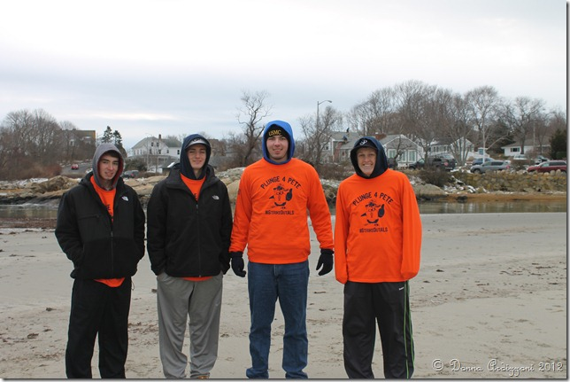 December 29, 2012 Plunge for Pete
