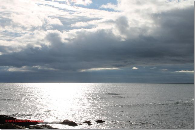 December 4, 2012 ocean and sky