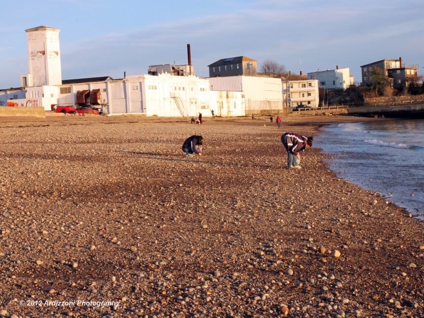 December 9, 2012 Seaglass hunting