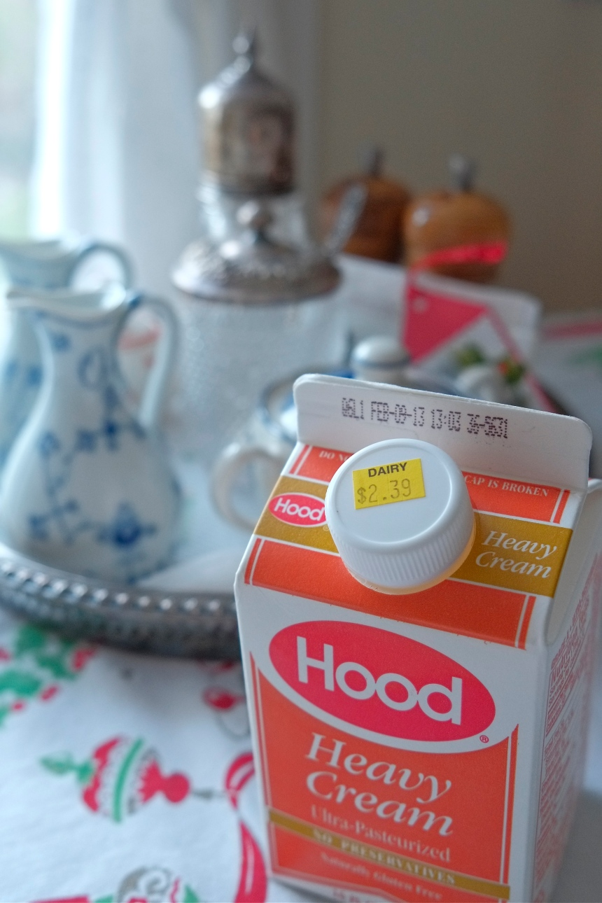 Stop and Shop Heavy Cream©Kim Smith