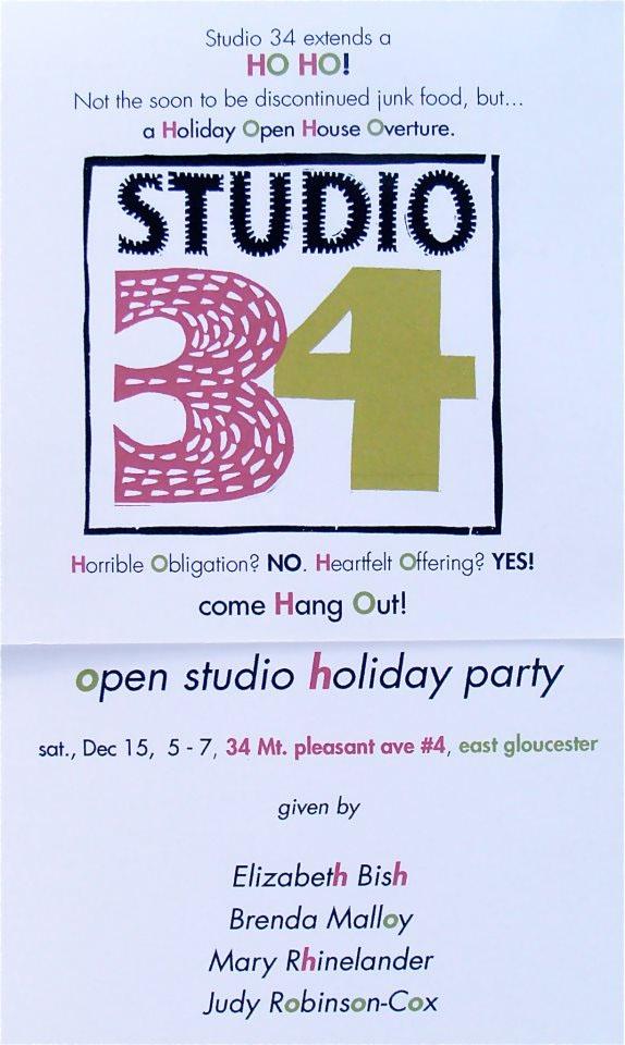 studio34 open studio
