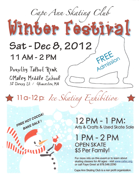 Winter Skate Flyer 2012