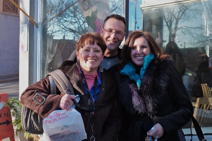 Donna Ardizonni, Eric Lorden, Felicia Ciaramitaro ©Kim Smith 2013