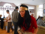 Wonder Woman back for more food