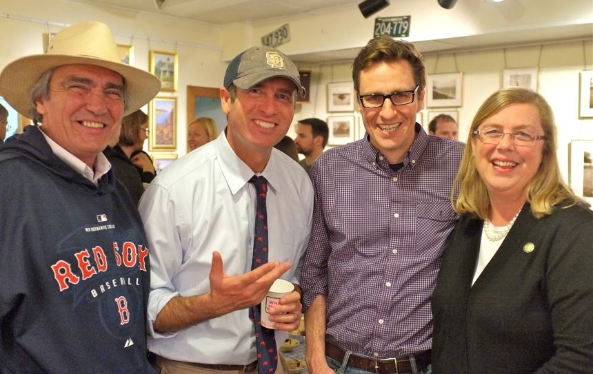Ed, Joey, John, Mayor Kirk.