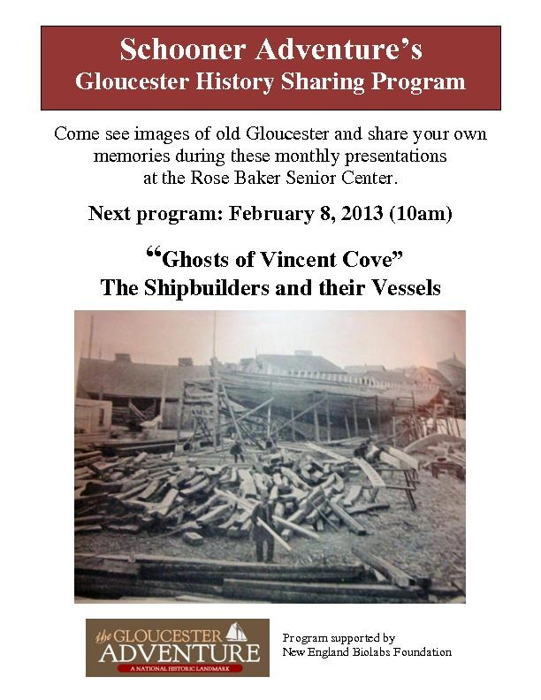 History Sharing Program Poster - Vincent Cove001