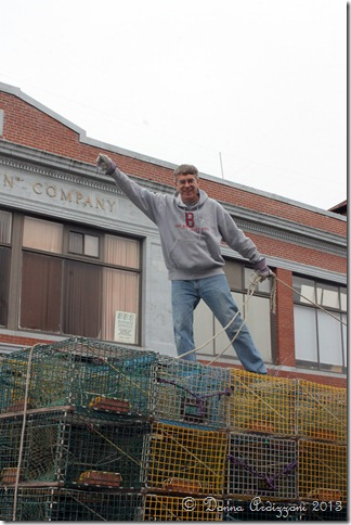 January 12, 2013 Rick on top of the truck