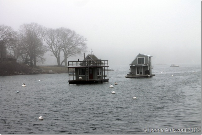 January 13, 2013 foggy day in Annisquam