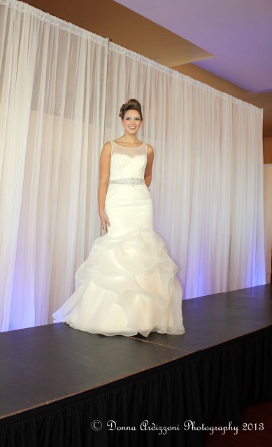 Wedding gown from Bella Sera Bridal