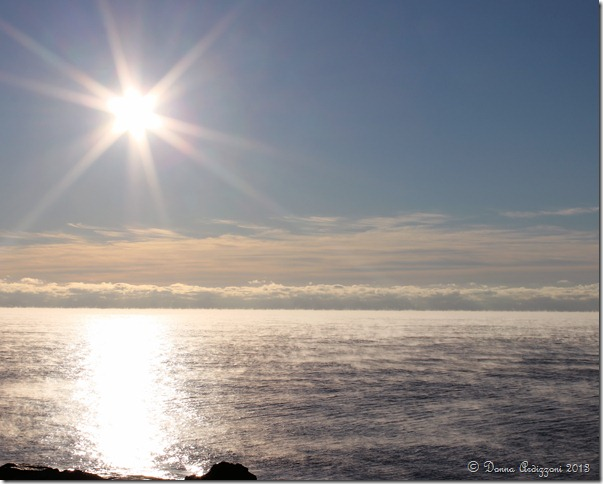 January 3, 2012 sea smoke