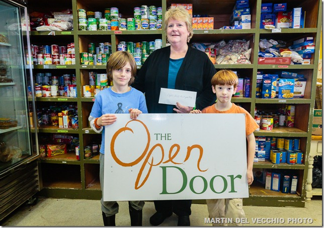 Ninja Donation to Open Door-017