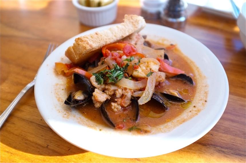 Passports Restaurant Gloucester Adriatic Stew