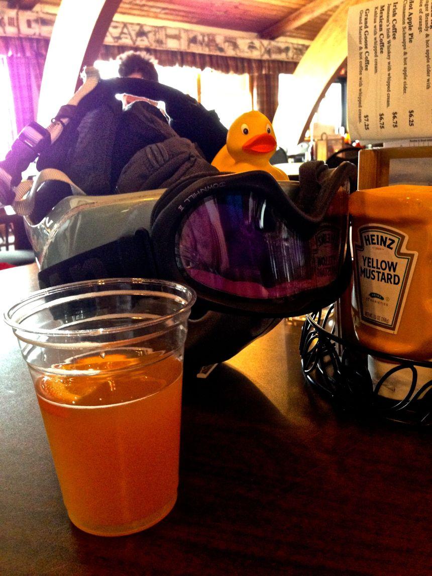 rdsisterwent skiing